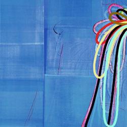 """Dan DeveningÈVapor TangleÇ, 2002, oil on canvas, 55 x 42"""""""