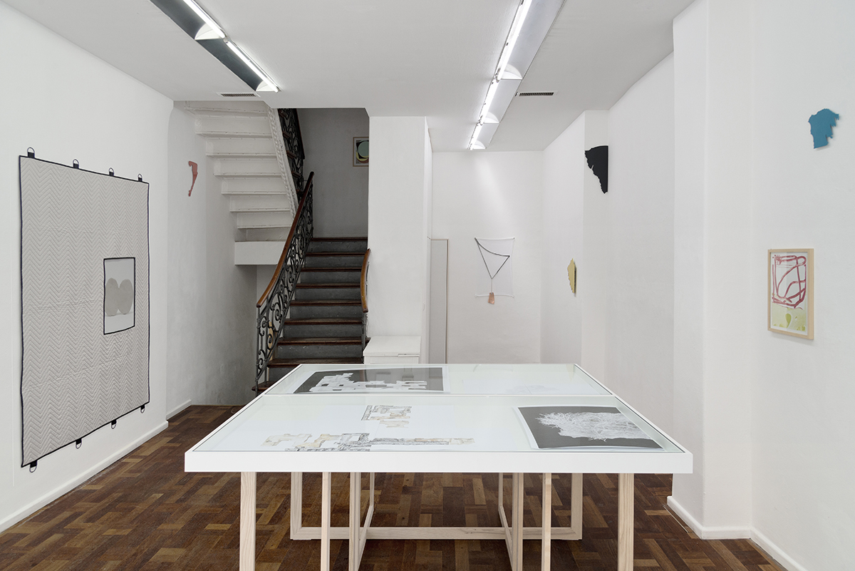 On Stranger Ways, installation view. Scotty Enterprises, Berlin.